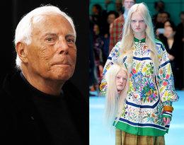 Giorgio Armani krytykuje ostatni pokaz Gucci!