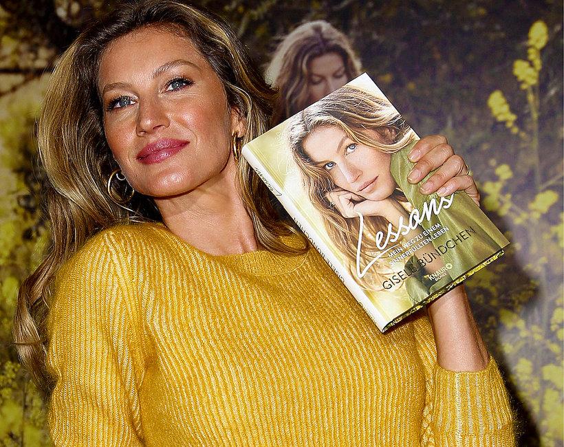 Gisele Bündchen, książka Lekcje. Moja droga do dobrego życia, Wydawnictwo Literackie