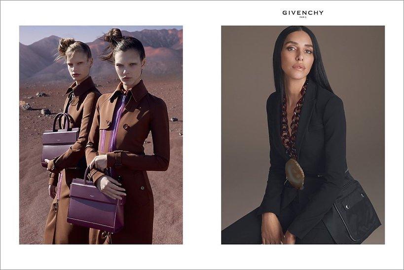 Givenchy kampania na wiosnę 2017