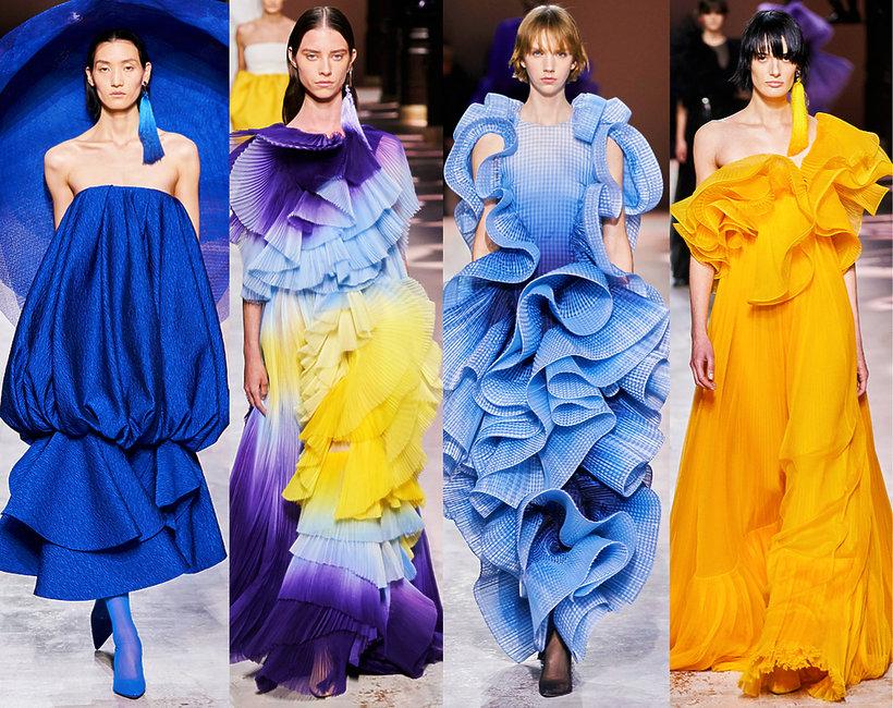 Givenchy pokaz haute couture wiosna 2020 trendy