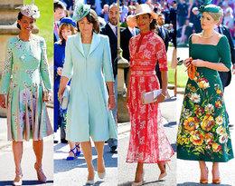 Zobaczcie najlepsze stylizacje gości na ślubie Meghan Markle i księcia Harry'ego!