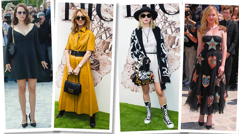 Goście na pokazie Dior haute couture jesień 2017 2018