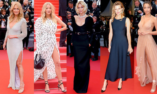 Grażyna Torbicka, Anja Rubik, Julia Wieniawa, Jessica Mercedes, Małgosia Bela w Cannes 2018