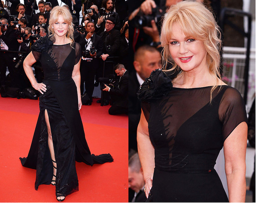 Grażyna Torbicka na premierze nowego filmu Almodovara w Cannes 2019