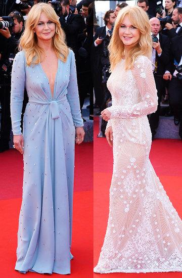 Grażyna Torbicka stylizacje kreacje w Cannes