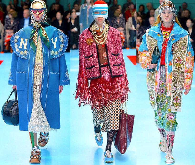 Gucci pokaz kolekcji na jesień 2018