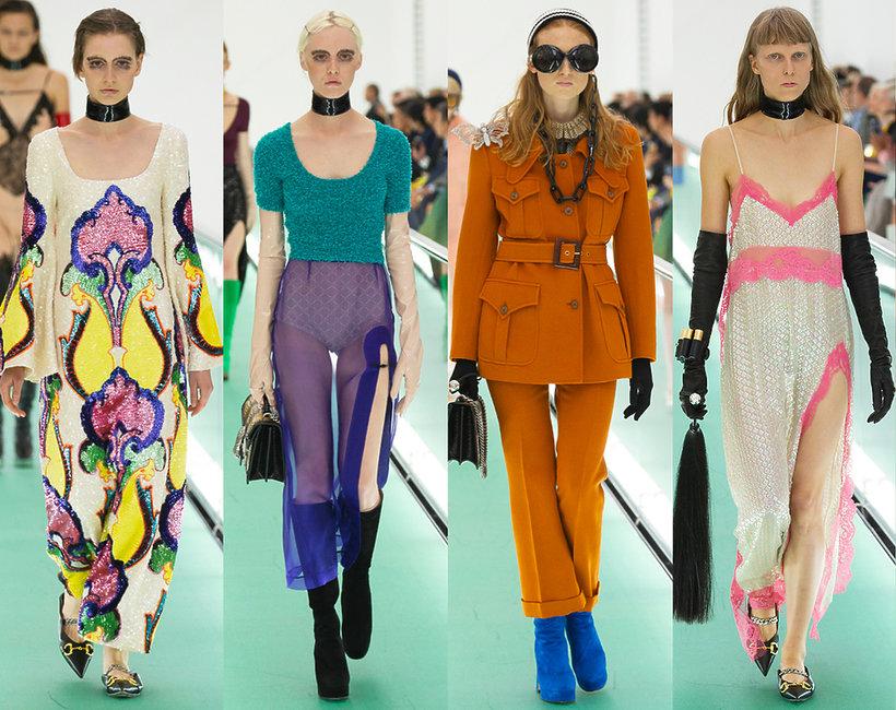 Gucci pokaz na wiosnę 2020