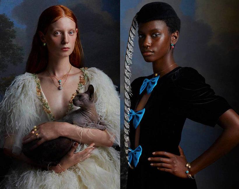 Gucci reklama biżuteria Le Marché des Merveilles Gucci reklama biżuteria Le Marché des Merveilles