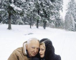 "Gustaw Holoubek i Magdalena Zawadzka, ""Viva!"", luty 2000"