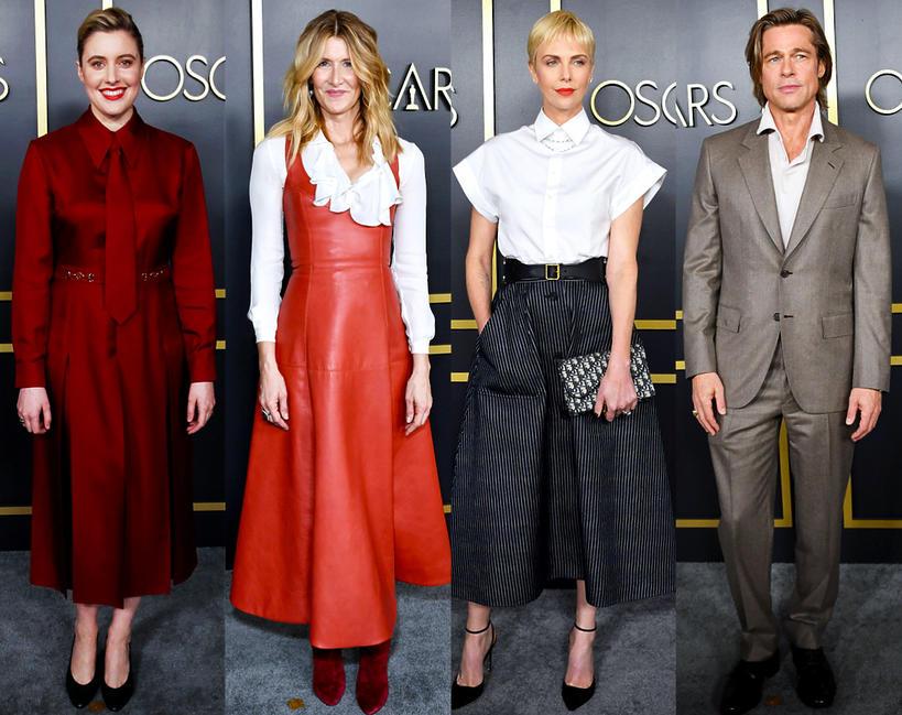 Gwiazdy na lunchu dla nominowanych do Oscara 2020