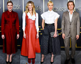 Charlize Theron, Brad Pitt i Bartosz Bielenia na lunchu dla nominowanych do Oscara!