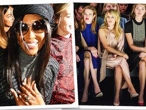 Gwiazdy na pokazach haute couture w Paryżu