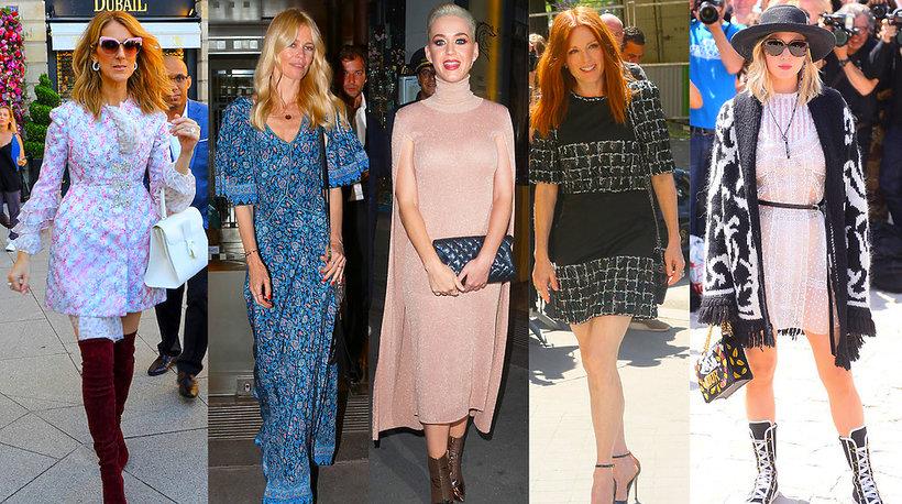 Gwiazdy na pokazach haute couture w Paryżu na jesień 2017/2018