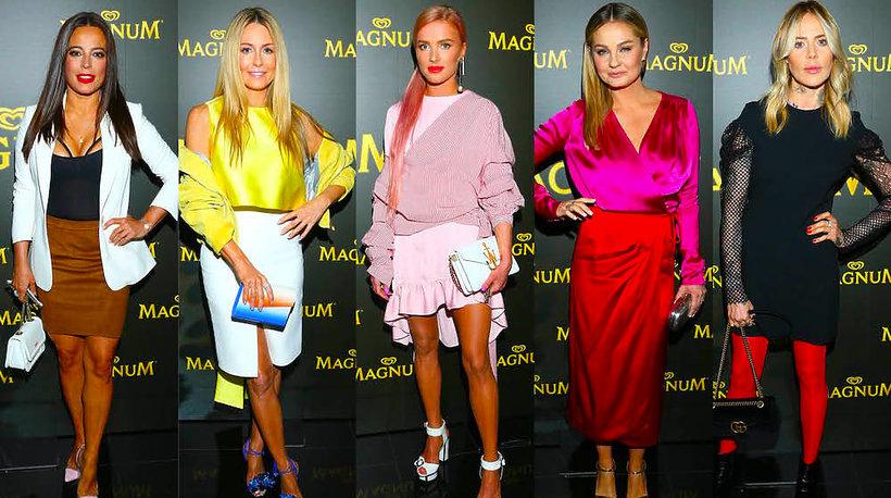 Gwiazdy na pokazie La Mania/Magnum