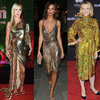 Gwiazdy w złotych i srebrnych sukniach