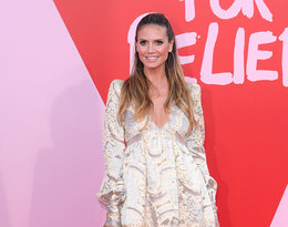 Heidi Klum na imprezie Fashion for Relief w Cannes