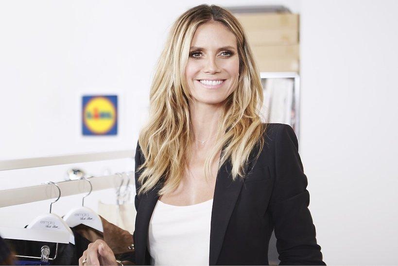 Heidi Klum zaprojektowała kolekcję ubrań i dodatków dla Lidla