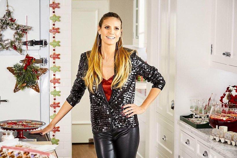 Heidi Klum zaprojektowała świąteczną kolekcję dla Lidla