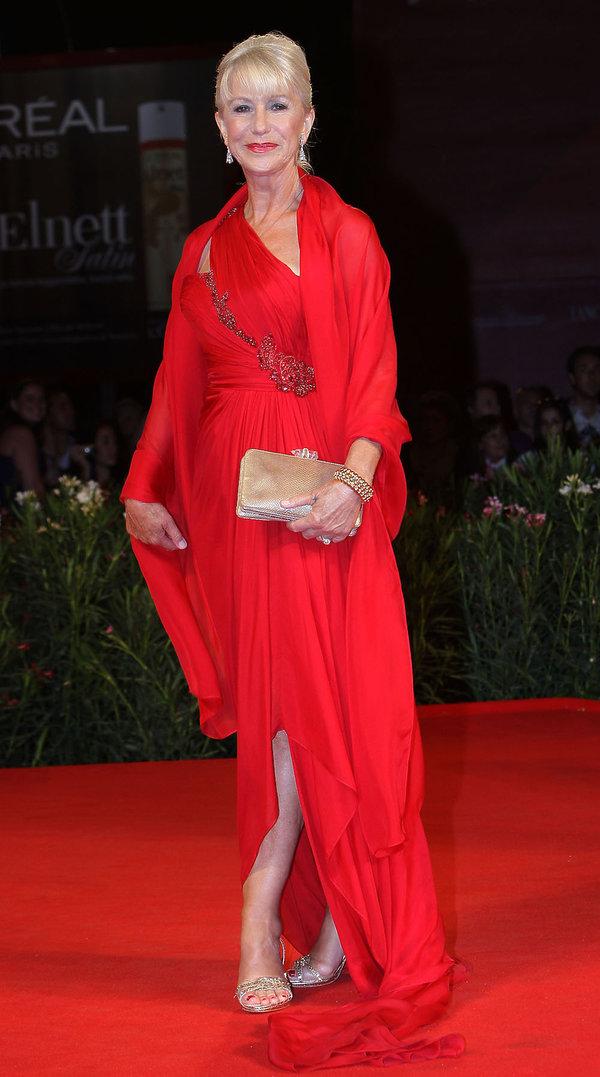 Helen Mirren Najpiękniejsze kreacje z poprzednich lat na Festiwal Filmowy w Wenecji