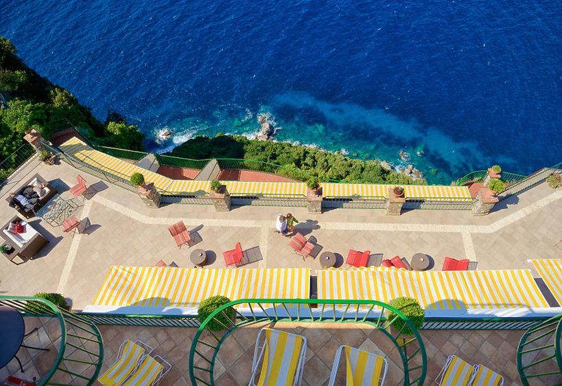 Hotel Caesar Augustus, Capri, Włochy