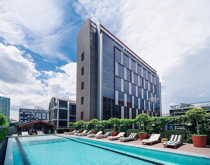 Hotel M Social zaprojektowany przez Philippe'a Starcka w Singapurze