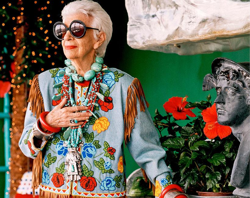 Iris Apfel w najnowszym numerze VIVA! MODA
