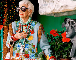 Ikona stylu Iris Apfel w wielu dziedzinach była prawdziwą pionierką!