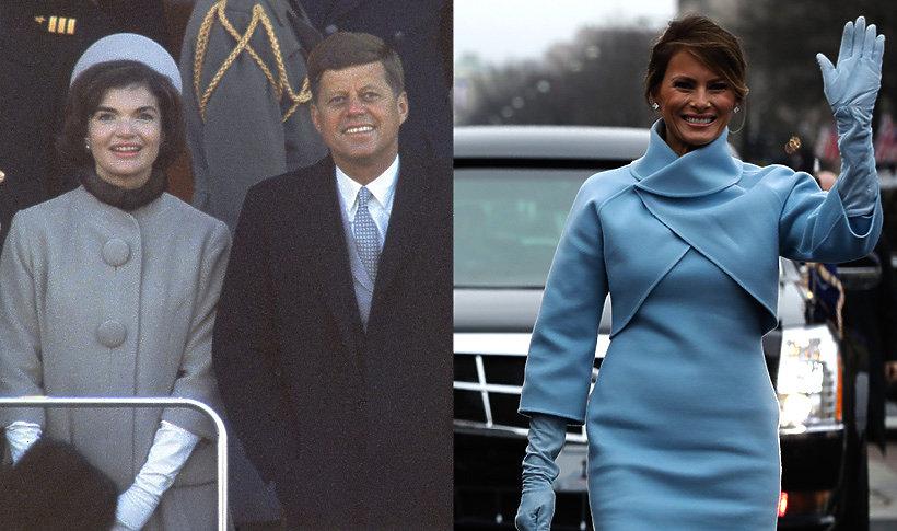 Jackie Kennedy, Melania Trump