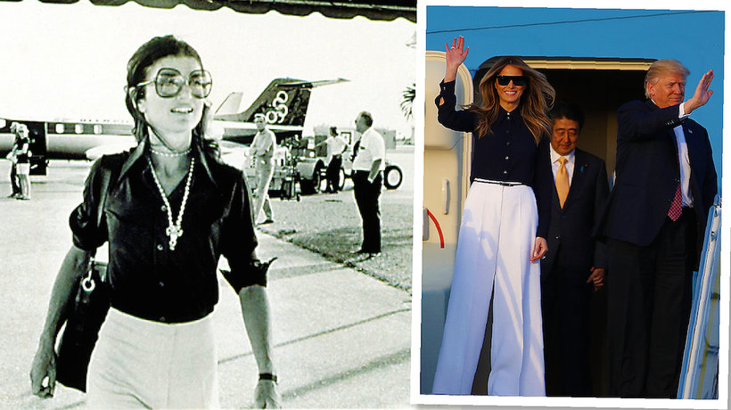 Jackie Kennedy, Melania Trump- main topic