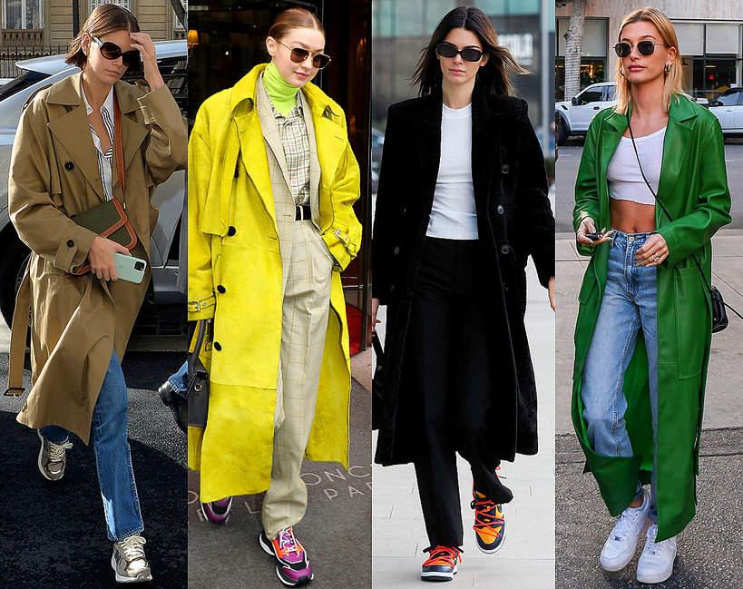 Jaki nosić najmodniejsze sneakersy na wiosnę 2020 Stylizacje z butami sportowymi modelki influencerki