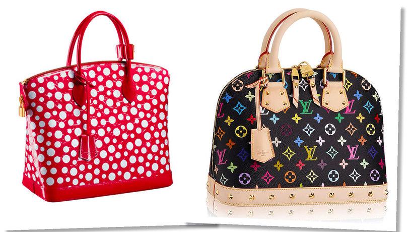 Japońscy artyści Yayoi Kusama i Takashi Murakami stworzyli własne kolekcje torebek dla Louis Vuitton