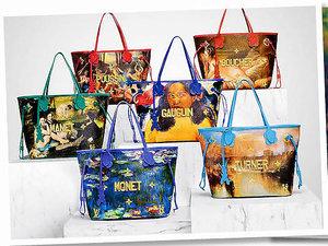 Jeff Koons tworzy torebki dla Louis Vuitton