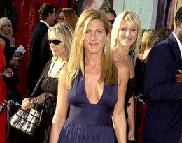 Jennifer Aniston vintage Halston , Emmy Awards 2003