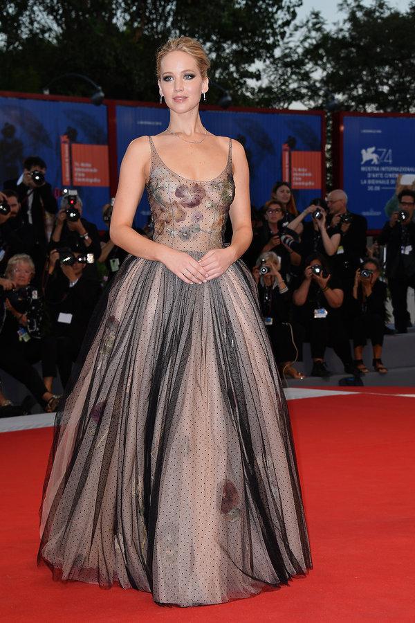 Jennifer Lawrence na Festiwalu Filmowym w Wenecji