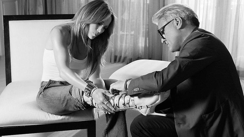 Jennifer Lopez projektuje kolekcję butów dla marki Giuseppe Zanotti