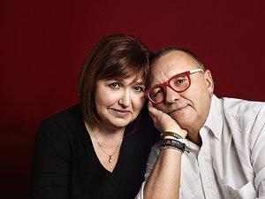 Jerzy Owsiak z żoną w VIVIE!