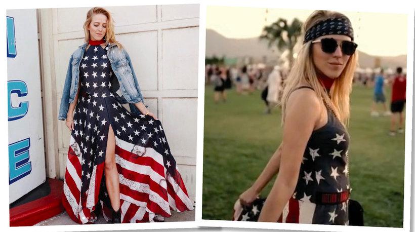 Jessica Mercedes na Coachella