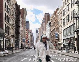 Jessica Mercedes na nowojorskim Tygodniu Mody