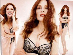 Julianne Moore i Liv Tyler w reklamach marki Triumph