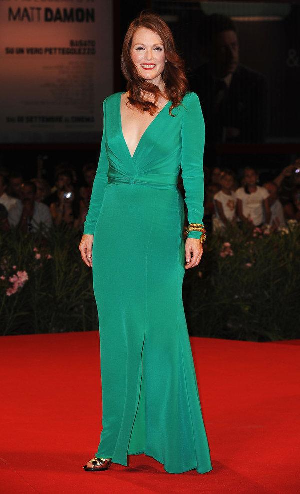 Julianne Moore Najpiękniejsze kreacje z poprzednich lat na Festiwal Filmowy w Wenecji