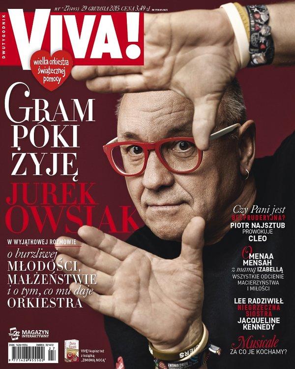 Jurek Owsiak na okładce Vivy!