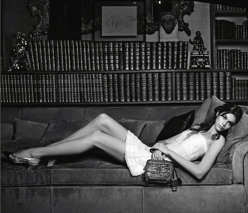 Kaia Gerber w reklamie Chanel