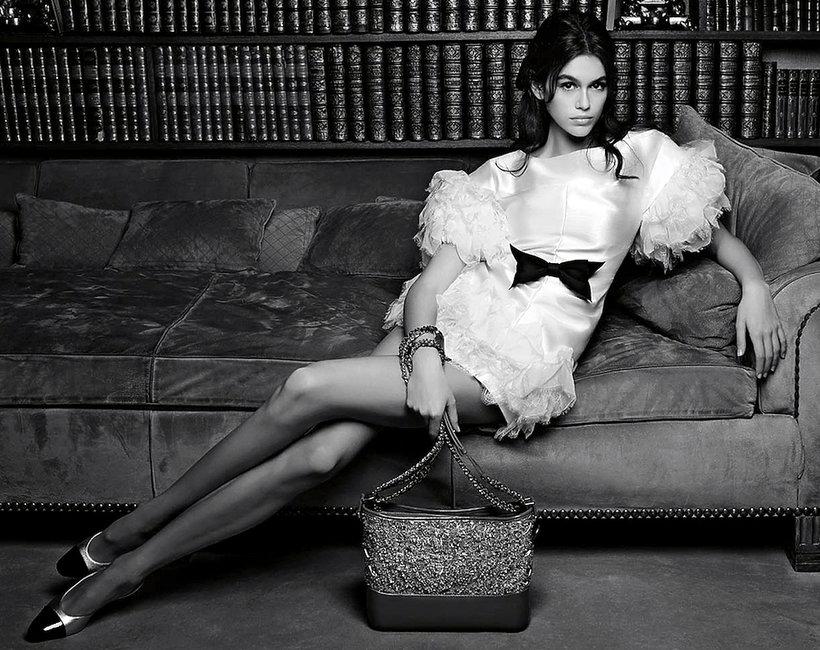 Kaia Gerber w reklamie Chanel-ok