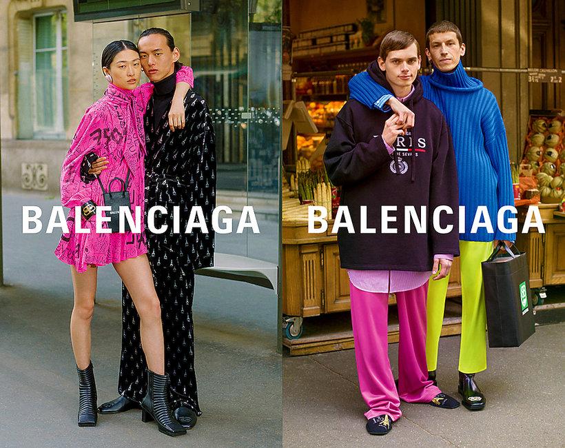 kampania Balenciagi na jesień 2019