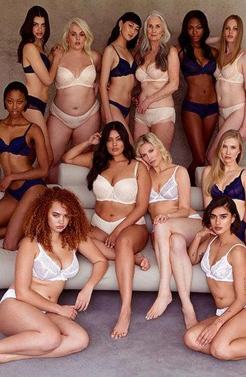 kampania bielizny Figleaves #beautyhasnobounds