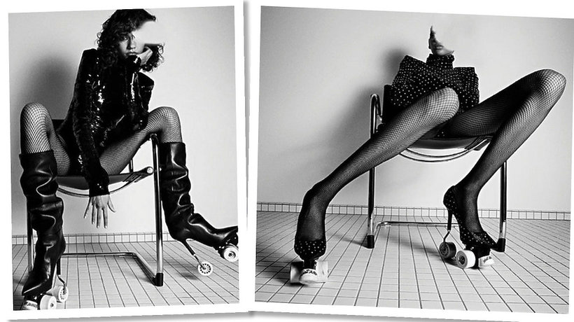 Kampania domu mody Saint Laurent na jesień 2017