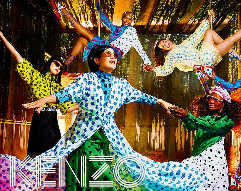 Kampania Kenzo na wiosnę i lato 2019