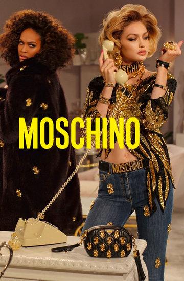 Kampania Moschino na jesień zimę 2019 2020