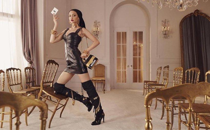Kampania reklama kolekcji H&M x Moschino autor Steven Meisel