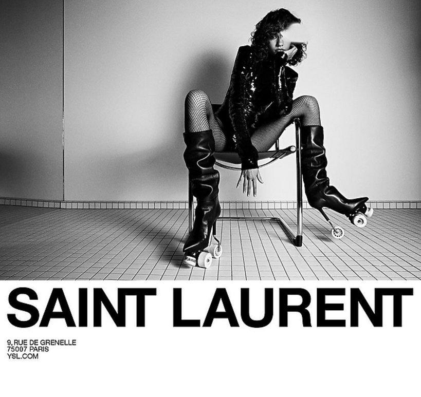 Kampania Saint Laurent na jesień 2017